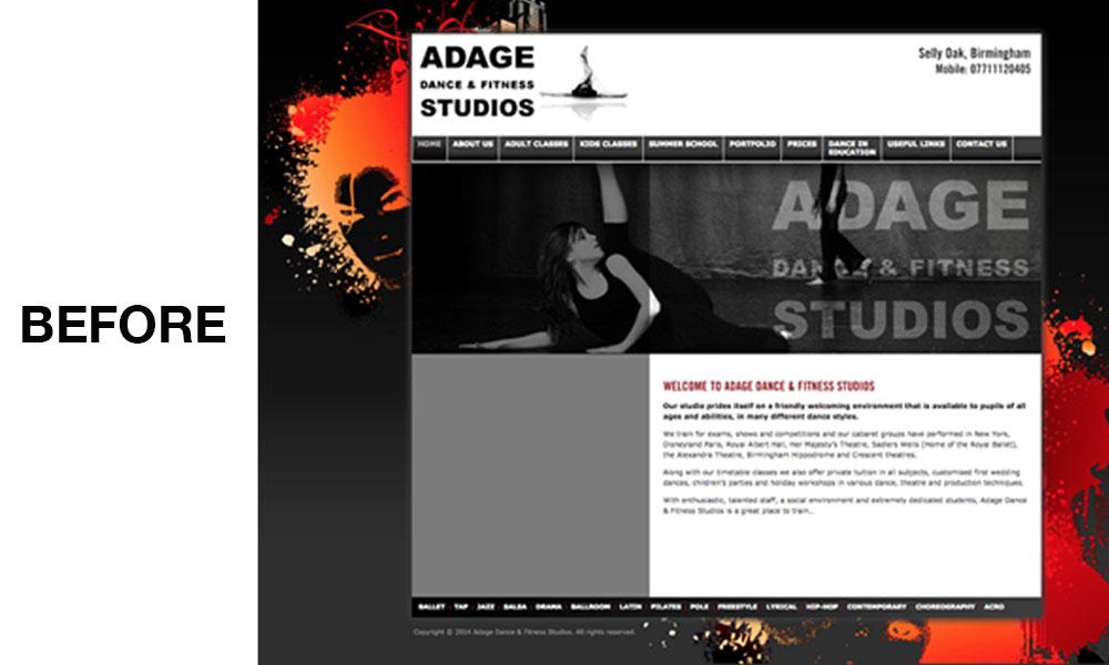 Adage Dance & Fitness Studios - DNA Creative Designs
